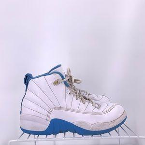 Nike Air Jordan 12 Baby Blue Kids Size 1.5y